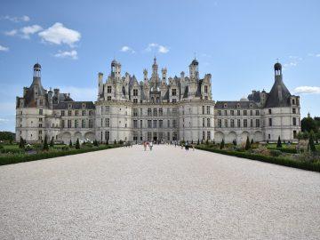 Château de Chambord dans la région Centre-Val de Loire