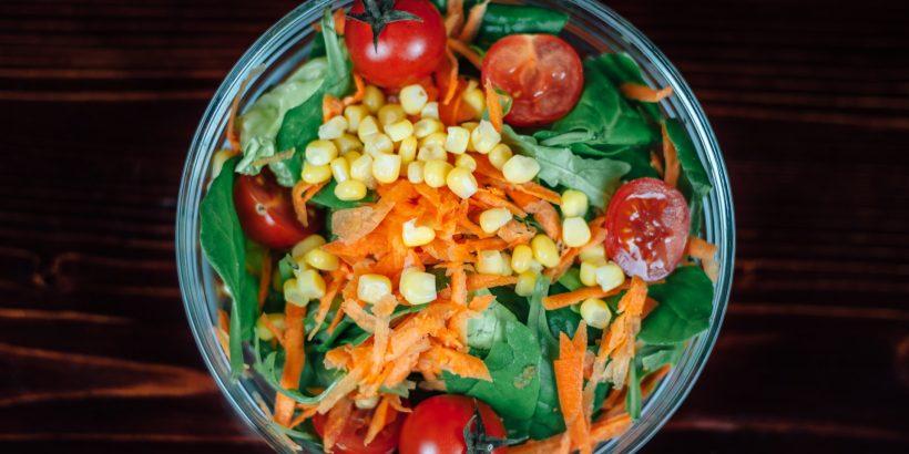 salade de maïs tomate